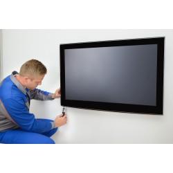 Επιτοίχια εγκατάσταση TV < 33''